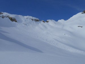 Avalancge col des Dards