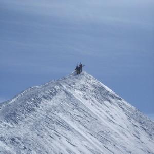 Arête sommitale mont blanc
