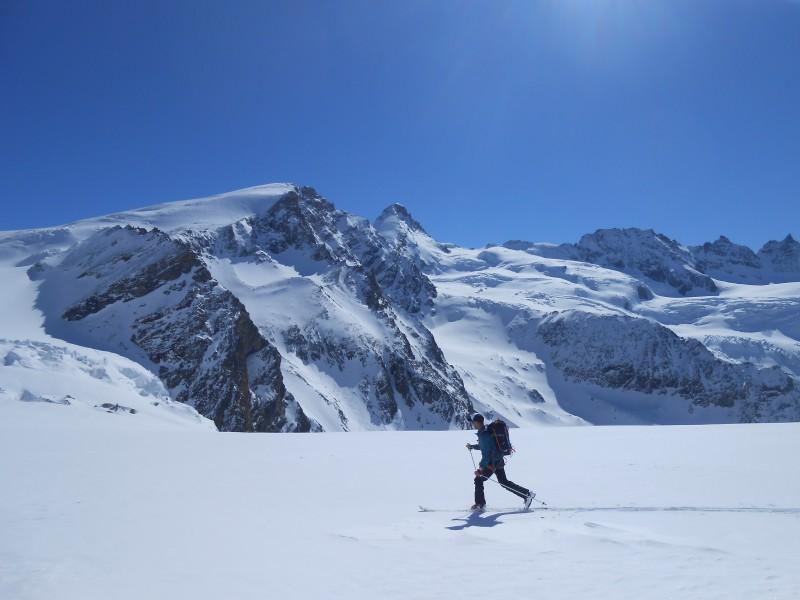 haut glacier Tsa de Tsan