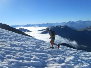 Alpinerunning dôme des Glaciers