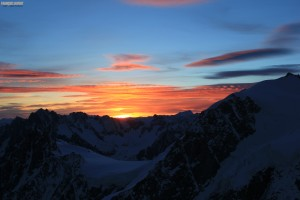 credit 8 Mont Blanc à ski