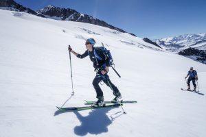 Dôme glaciers ski randonnée Mont Blanc alpinisme