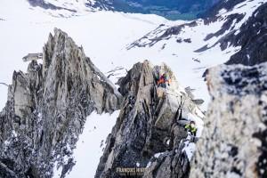 couloir Table aiguille Tour alpinisme Mont Blanc
