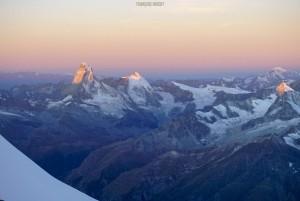 Traversée Taschorn Dom Suisse Valais alpinisme escalade