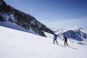 aiguille des glacier dôme des glaciers ski de randonnée ski alpinisme beaufortain tarentaise mont blanc