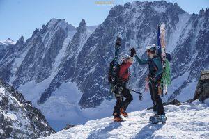 col Passon ski randonnée Mont Blanc Argentière