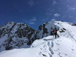 Grand Mont arête nord ski de randonnée Beaufortain