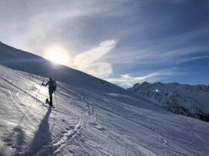 Queyras Pic Château Renard ski de randonnée ski de rando Saint Véran Fontgillarde
