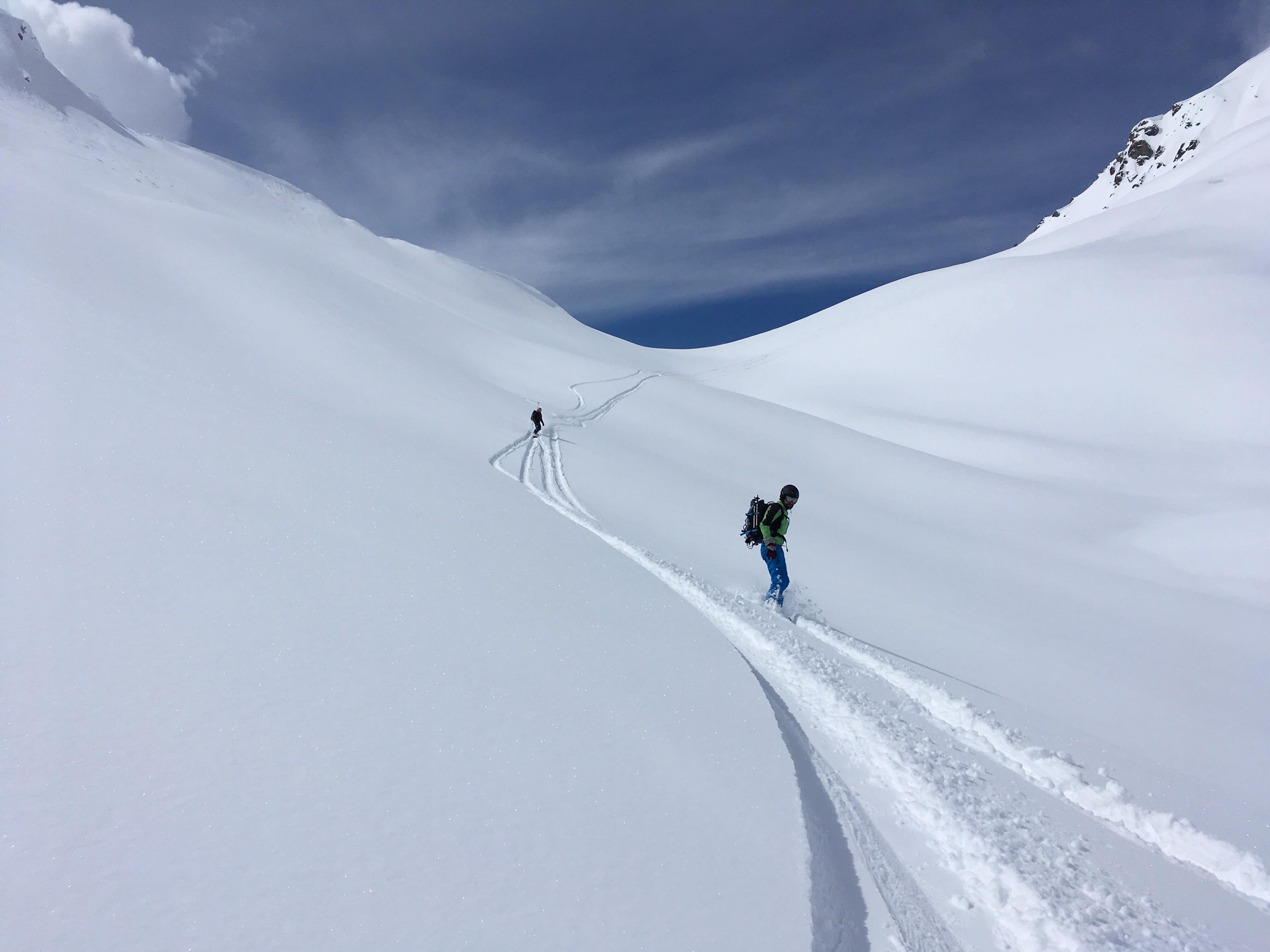 Col de la Louze snowboard 1