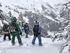 freeride Arêches hors piste Beaufortain