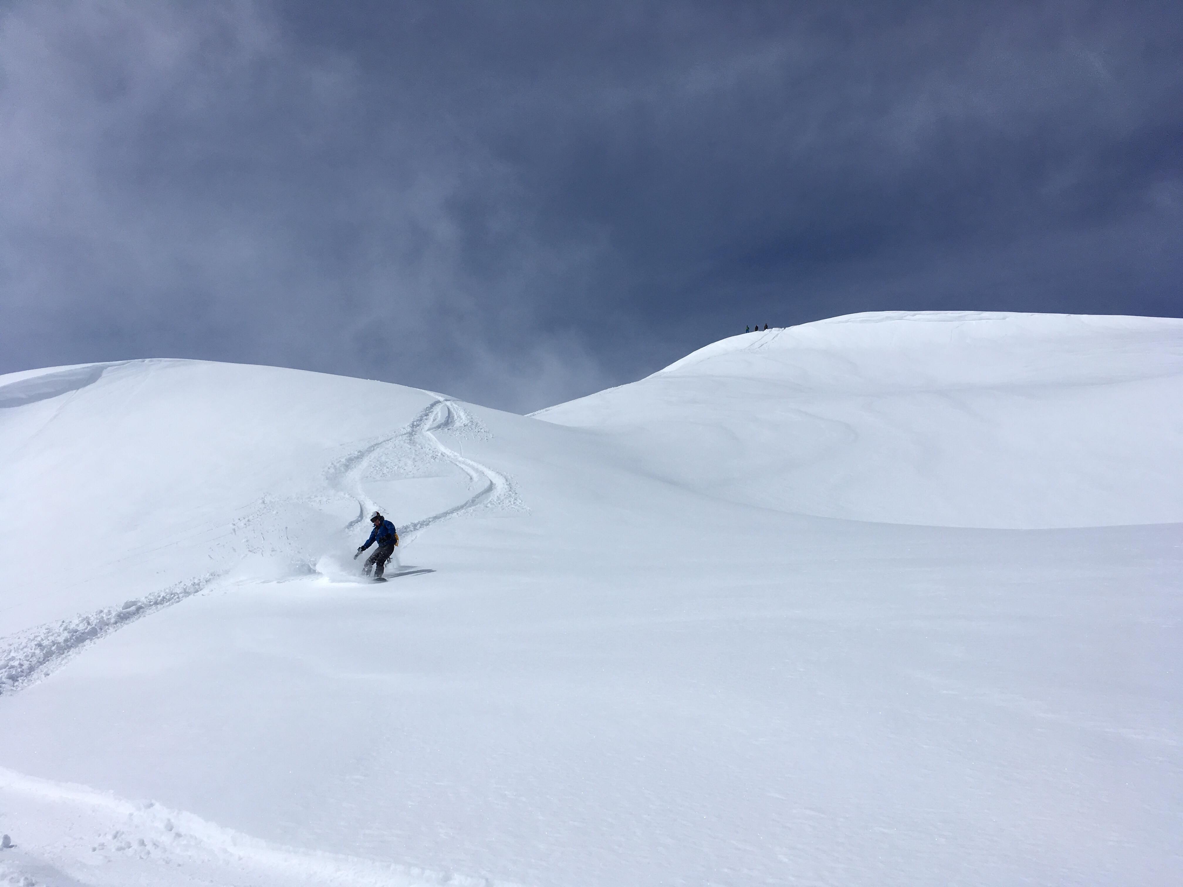 Col de la Louze snowboard 7
