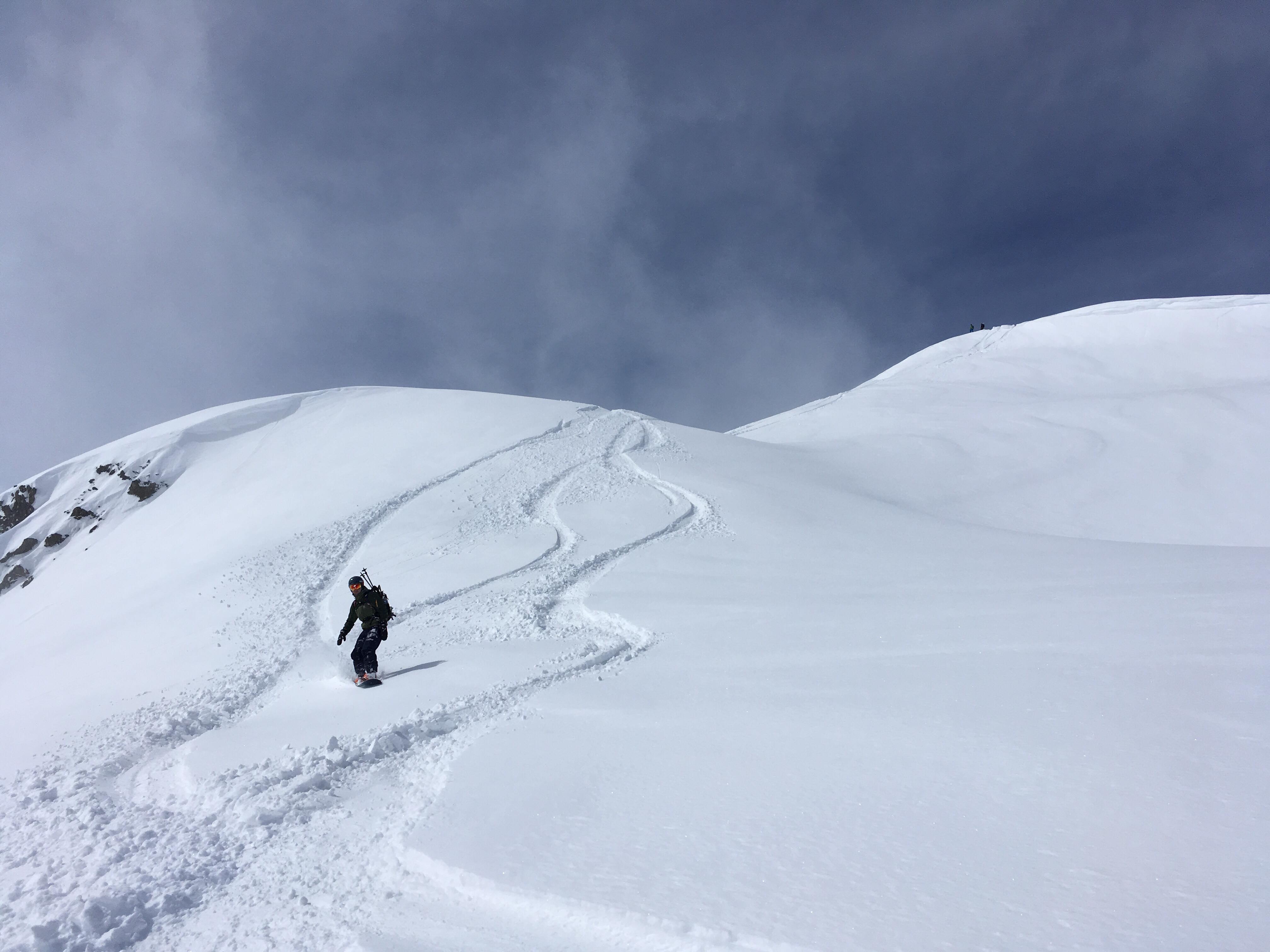 Col de la Louze snowboard 8
