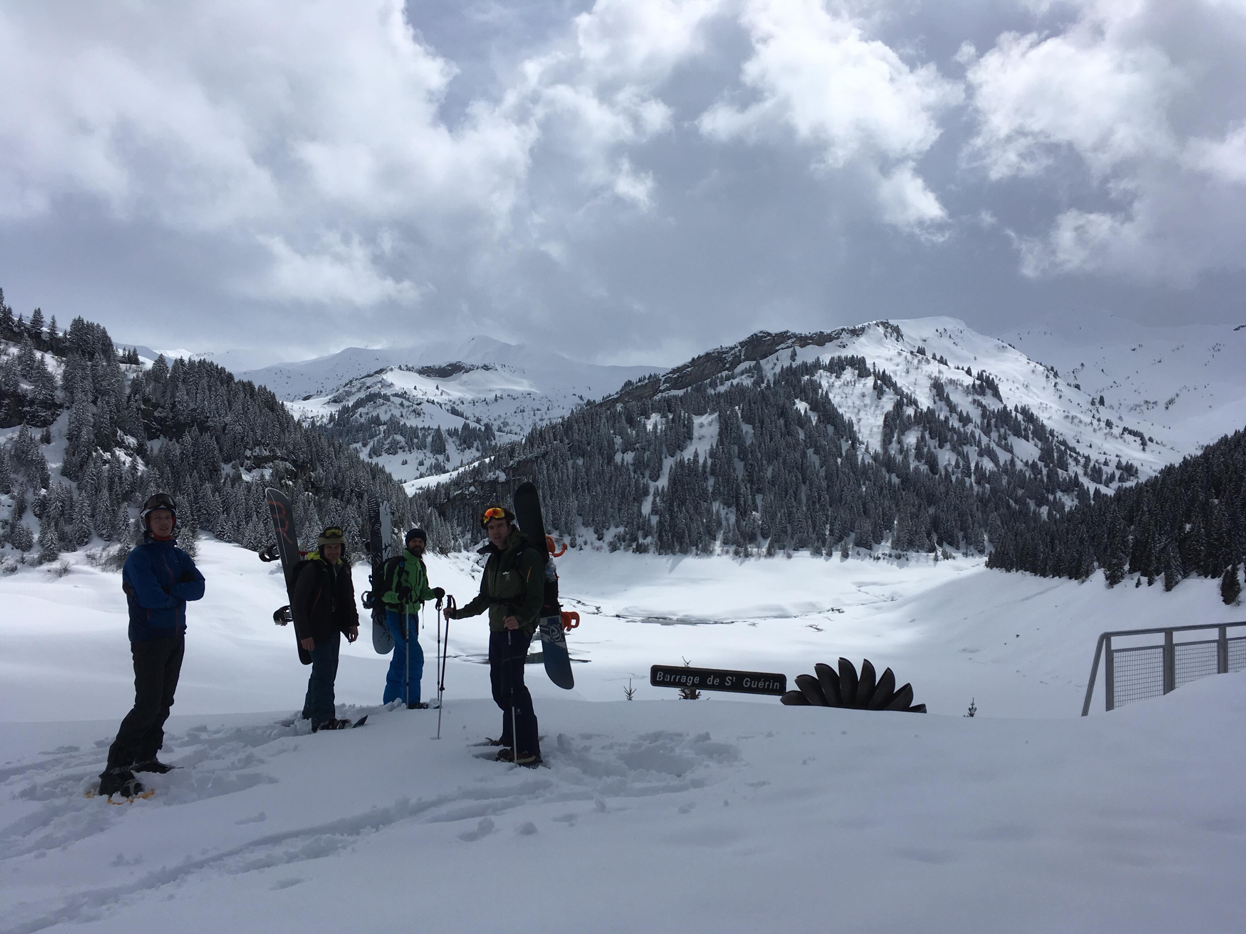 Col de la Louze snowboard 9