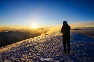Mont blanc voie normale Gouter alpinisme