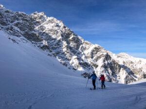 Massif Queyras ski de rando ski de randonnée Tête du Longet Saint Véran col de la Noire refuge de la Blanche