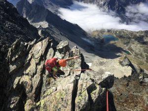Mont Tondu arête est alpinisme