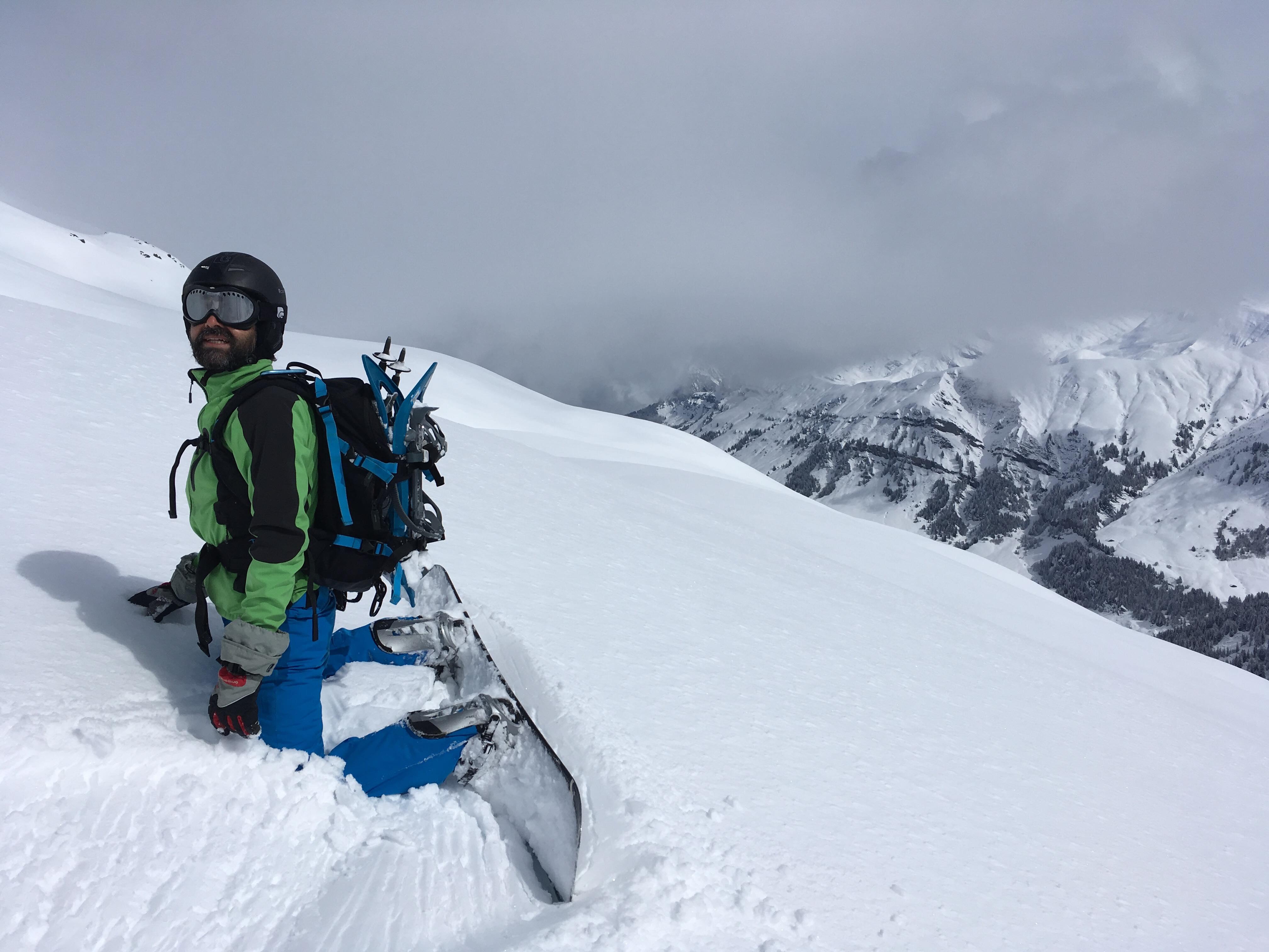 Col de la Louze snowboard 10