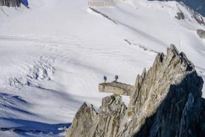 Arête Table aiguille Tour alpinisme Mont Blanc