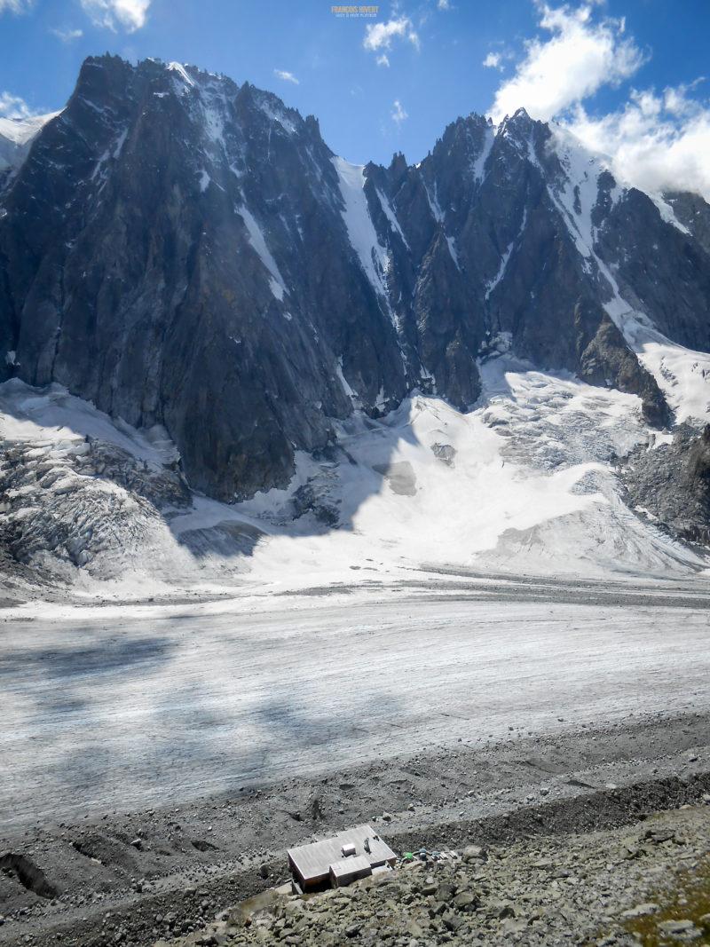 Gâteau de Riz Argentière escalade massif Mont Blanc aiguille du Refuge
