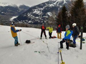formation avalanche secours DVA pelle sonde air bag ski de randonnée Beaufortain