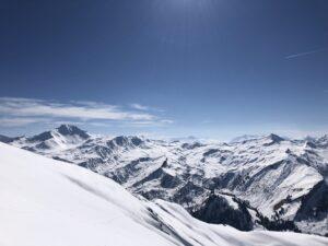 Mont des Acrays ski de rando ski de randonnée Beaufortain Arêches Beaufort Lac de Saint Guérin Pierra Menta