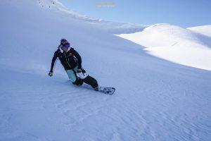 ski randonnée Riondet splitboard Beaufortain