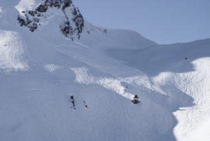 avalanche de plaque ski de randonnée Beaufortain