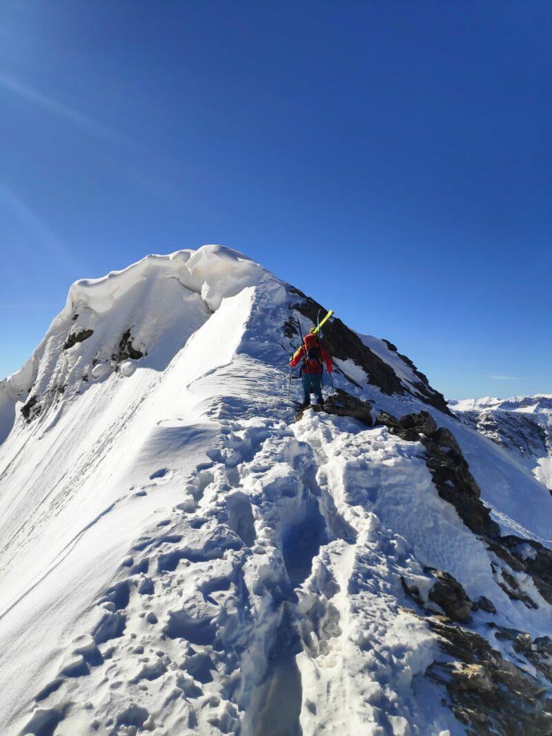 Queyras Pic Ségure ski de randonnée ski de rando Ristolas Abriès