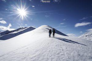 Acrays Roche Parstire ski randonnée Beaufortain