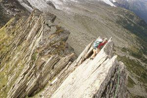Frête des Charmoz alpinisme Mont Blanc escalade