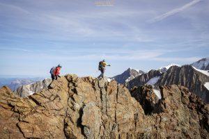Aiguille Glacier voie normale alpinisme Beaufortain