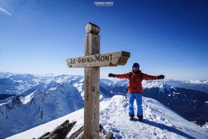 ski randonnée Beaufortain Grand Mont