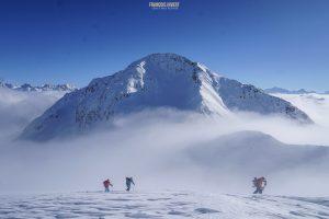ski randonnée point Dard Beaufortain