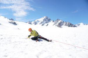 Chamoniarde formation alpinisme Mont Blanc