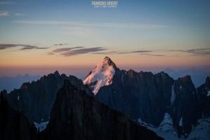 Arête Charlet Straton Flèche Rousse aiguille Argentière Mont Blanc escalade alpinisme