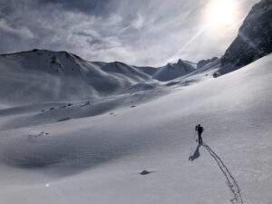 Queyras Pointe des Marcelettes ski de randonnée ski de rando Saint Véran Molines-en-Queyras