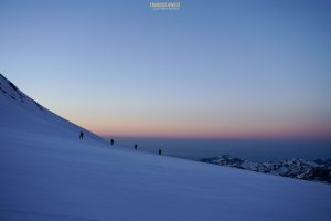 Mont Rose alpinisme Zumstein Spitze