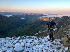 Alpinisme escalade Mont Blanc Dôme des Glaciers arête des Lanchettes refuge Robert Blanc les Chapieux