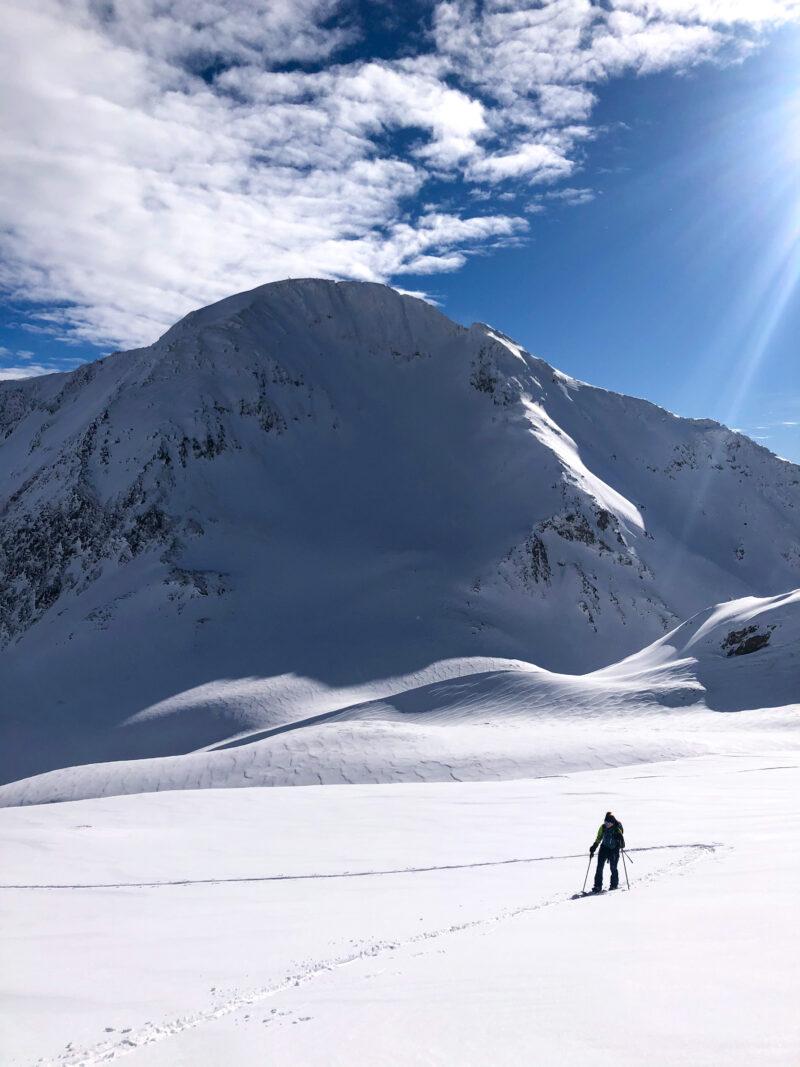 Ski de randonnée pointe du Dard Beaufortain Arêches Beaufort