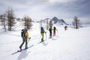 Traversée Cerces Thabor ski raid randonnée Ecrins Oisans a