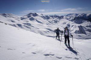 Crêt du Boeuf ski de randonnée Beaufortain
