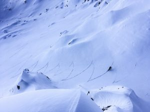 roc Charbonnière ski randonnée Beaufortain Pierra Menta