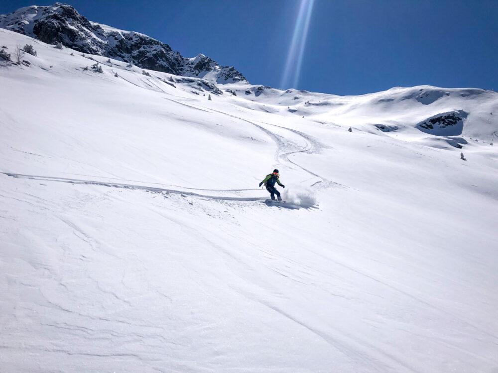 Beaufortain Croix d'Outray montagne Outray ski de rando ski de randonnée splitboard Arêches Beaufort