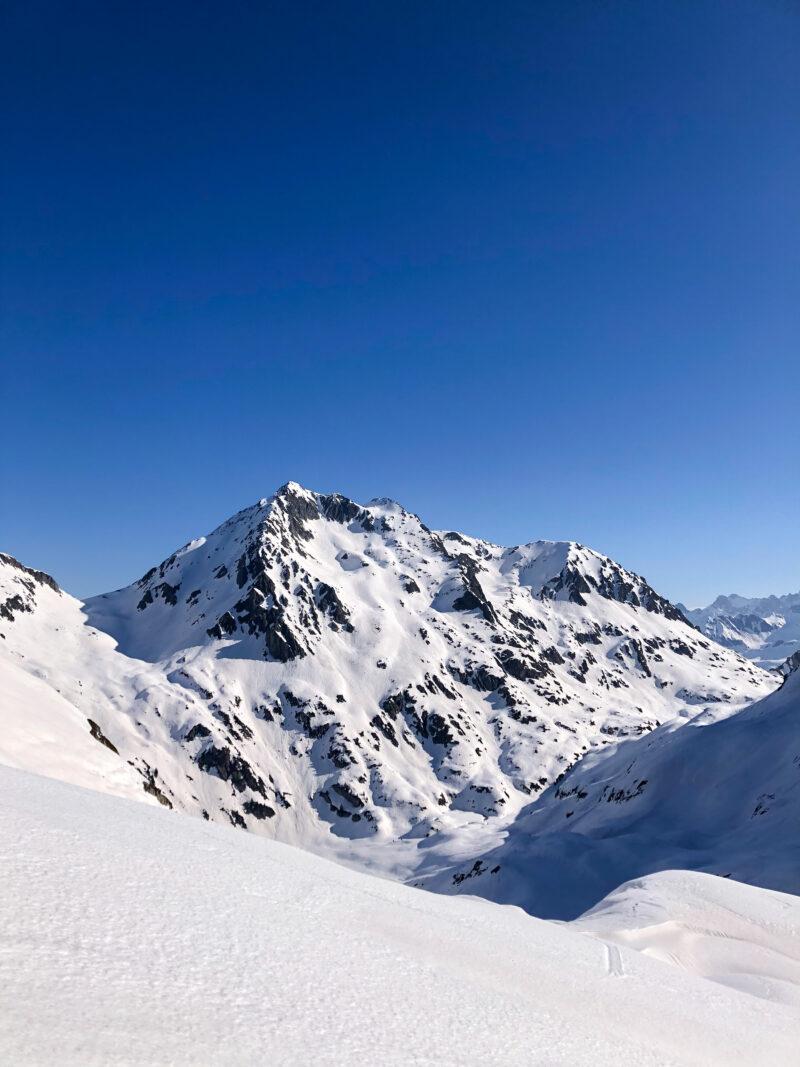 Beaufortain ski de rando ski de randonnée pente raide Grand Mont Comborsier