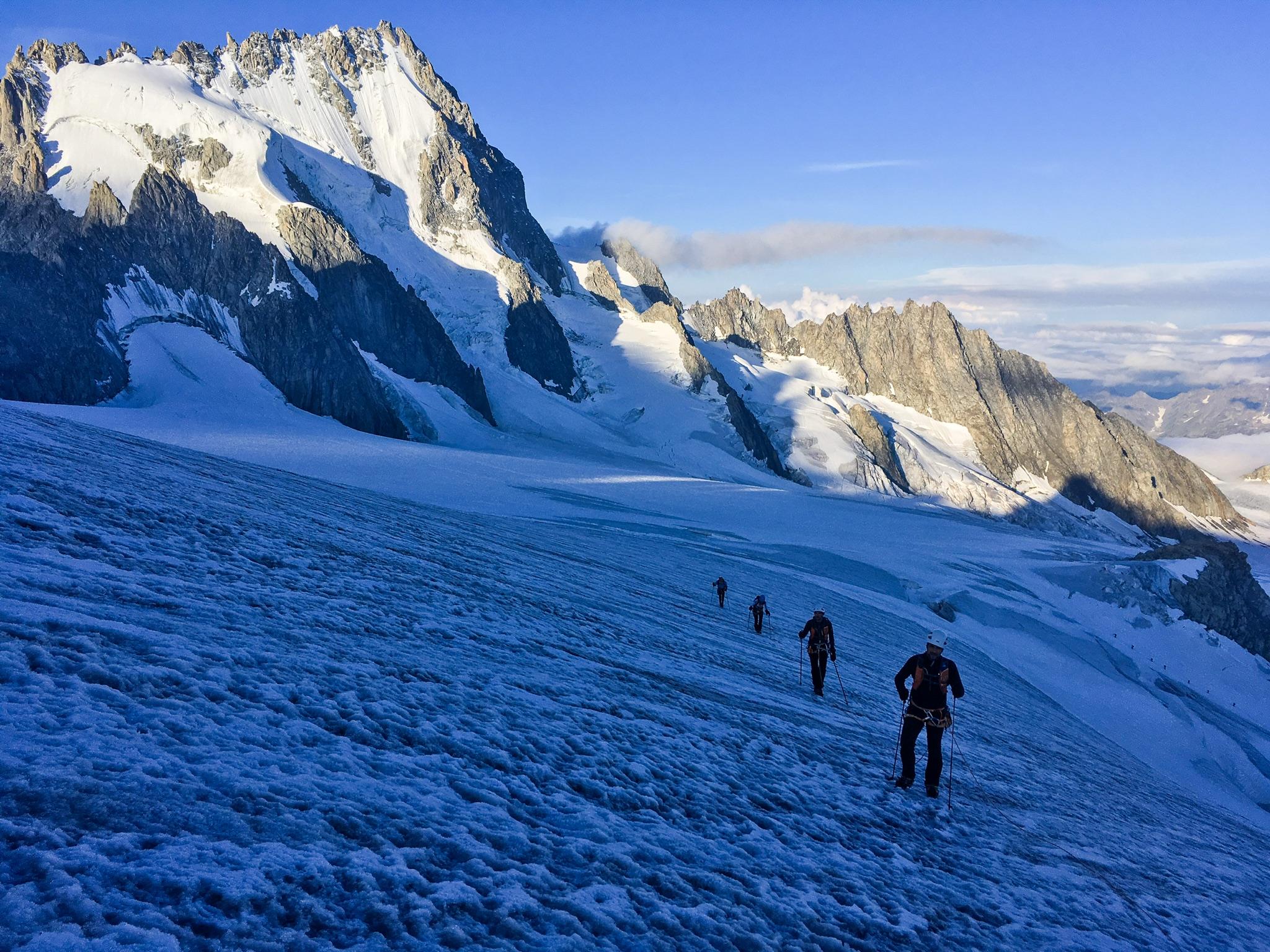 Stage alpine running Tête Blanche 2