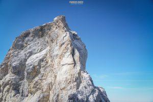 Pointe Percée arête Doigt alpinisme escalade