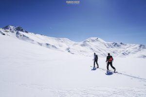 ski randonnée Beaufortain Crêt Bœuf