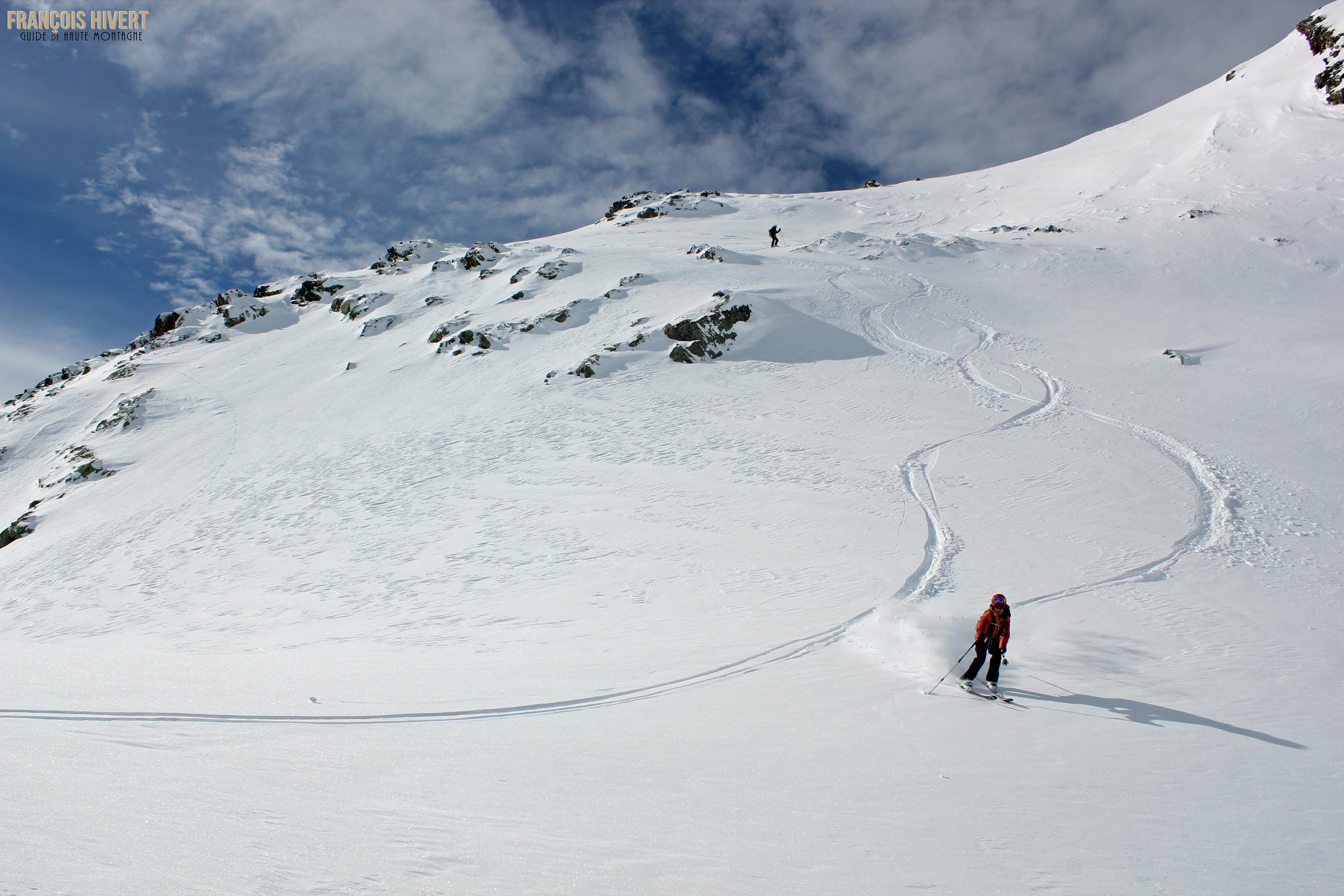 Crédit 10 Arête ouest Grand Mont Sylvie et Eddy