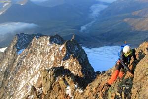 Aiguille Glaciers arête sud alpinisme escalade Mont Blanc Beaufortain