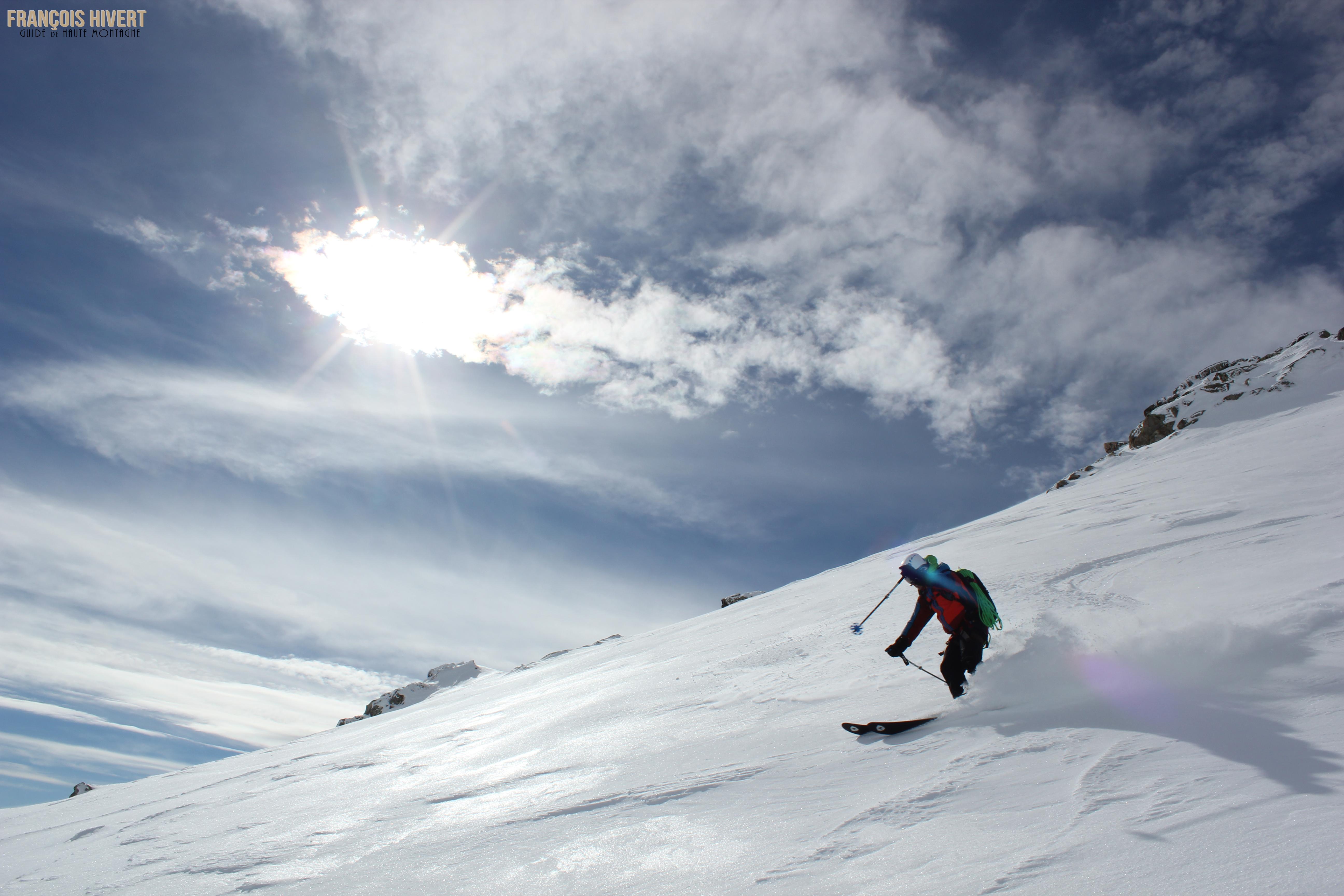 Crédit 11 Arête ouest Grand Mont Sylvie et Eddy